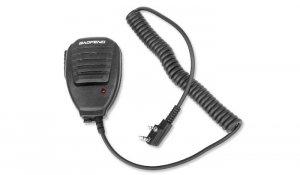 BaoFeng - Mikrofonogłośnik PTT do radiotelefonu - Kenwood