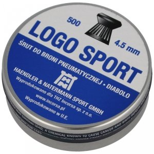 H&N - Śrut diabolo Logo Sport kal. 4,5mm 500szt.