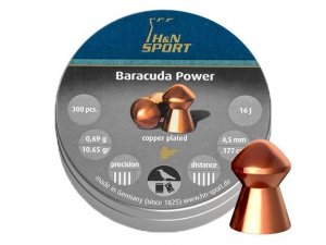 H&N - Śrut diabolo Baracuda Power 4,5mm 300szt.