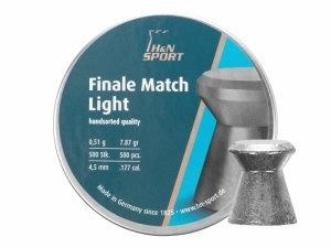 H&N - Śrut diabolo Finale Match Light 4,5mm 500szt.