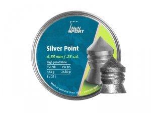 H&N - Śrut diabolo Silver Point 6,35mm 150szt.