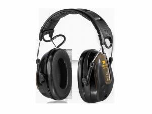 Ochronniki słuchu aktywne Peltor ProTac Hunter - czarno-oliwkowe