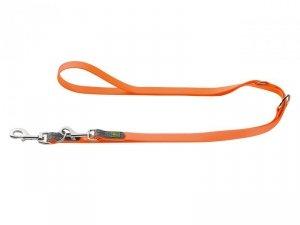 Hunter - Smycz convenience 20/200 neon pomarańcza