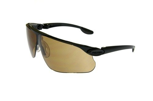 Okulary ochronne Peltor Maxim Ballistic - brązowe