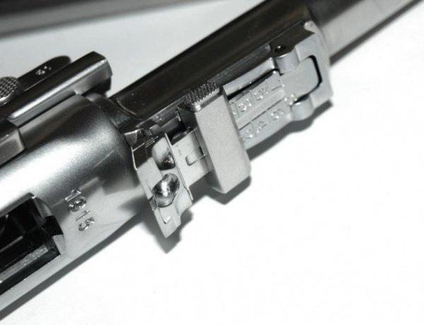 WE - Replika P08 L Parabellum - Silver