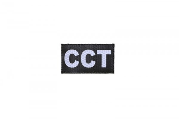 Naszywka IR - CCT - czarna