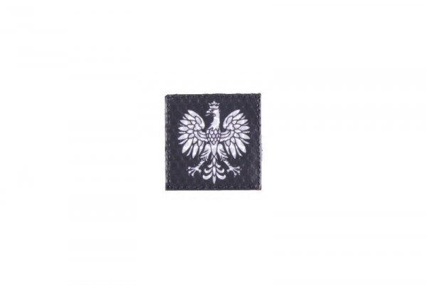 Naszywka IR - Godło Polski - czarna