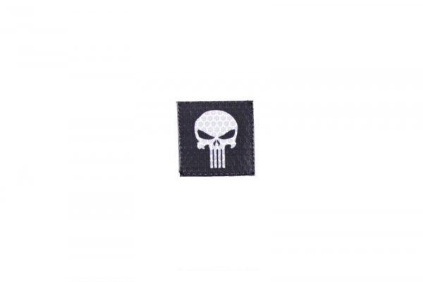 Naszywka IR - Punisher - czarna