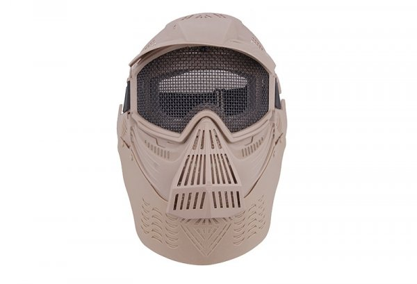 Maska Ultimate Tactical Guardian V2 - TAN