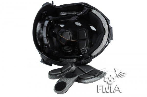 FMA - Hełm typu FAST BJ (L/XL) - czarny