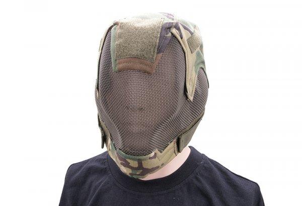 Maska pełna typu V6 Ultimate Edition - woodland