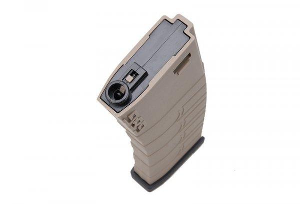 G&G - Magazynek Mid-Cap na 120 kulek do M4 - TAN/czarny
