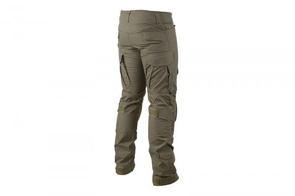 Spodnie Combat Uniform z nakolannikami - olive