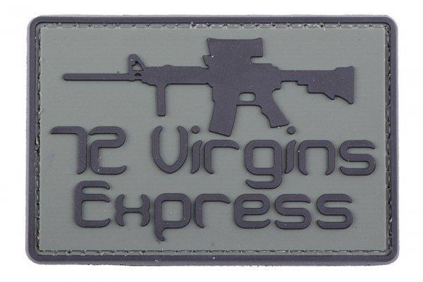 Naszywka 3D - 72 Virgins Express