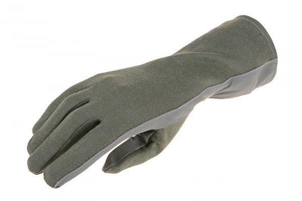 Rękawice taktyczne Armored Claw Nomex - sage green
