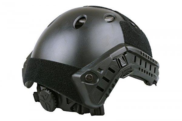 Hełm typu FAST PJ - czarny