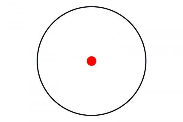 Theta - Replika kolimatora Red Dot 1x30 - czarny