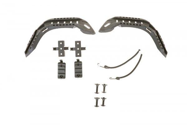 FMA - Zestaw szyn montażowych do hełmów typu FAST - czarny