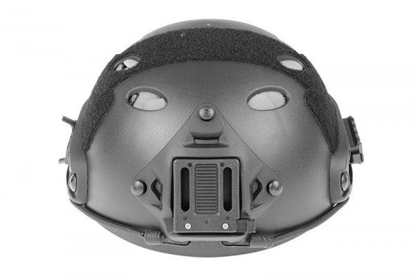 FMA - Hełm typu FAST PJ CFH (L/XL) - czarna