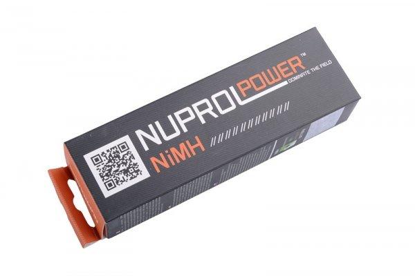 Nuprol - Akumulator NiMH 9.6V 1600mAh typ small