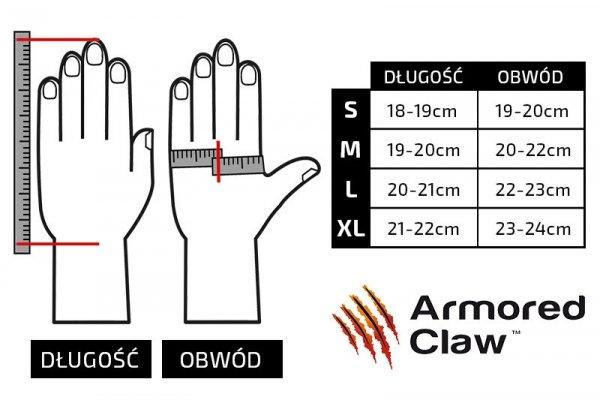 Armored Claw - Rękawice antyprzekłuciowe Direct Safe - czarne