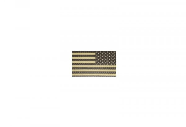 Naszywka IR - Flaga USA prawa - tan