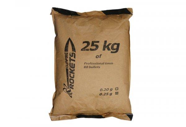 Rockets - Kulki BIO 0,25g 25kg - Dark Green