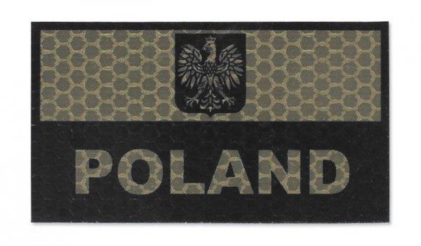 Combat-ID - Naszywka Polska - Duża - Coyote Tan - Gen I - A1