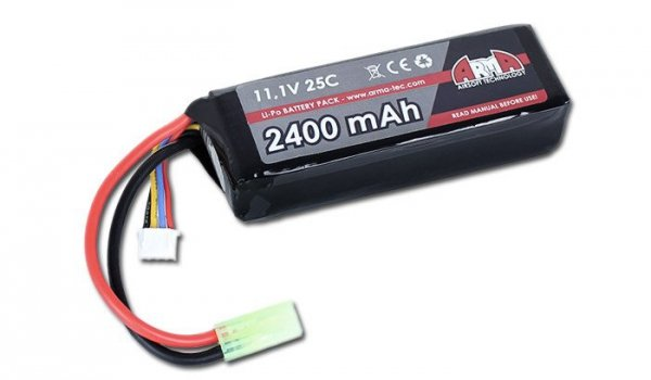 Arma Tech - Akumulator LiPo 11,1V 2400mAh 25C