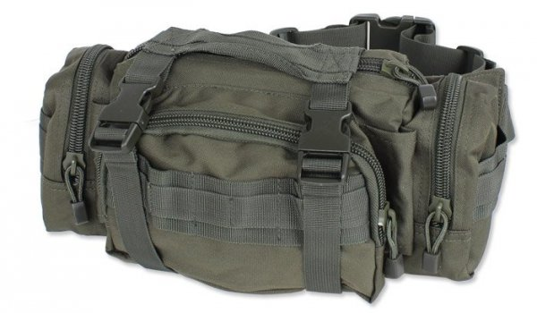 Mil-Tec - Torba TOPS Waist Pack - Zielony OD