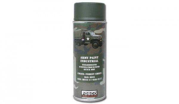 FOSCO - Farba do maskowania RAL 6031 - Forest Green