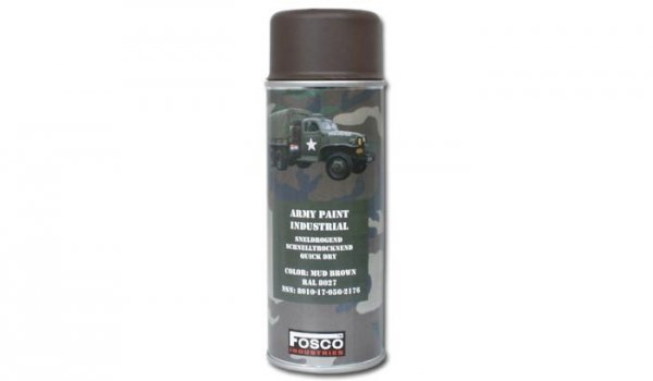 FOSCO - Farba do maskowania RAL 8027 - Mud Brown