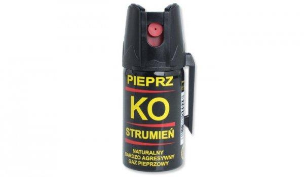 Klever - Gaz obronny KO Jet - Strumień - 40ml