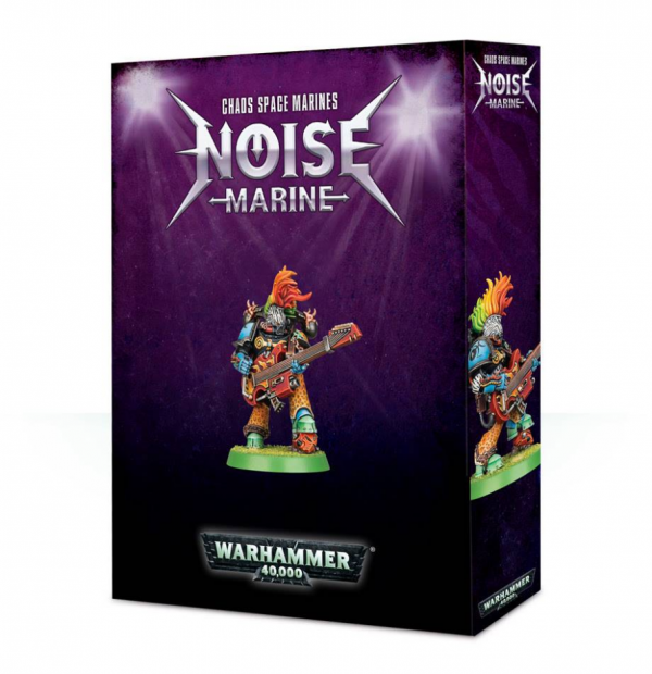 Warhammer 40K - Chaos Space Marines Noise Marine