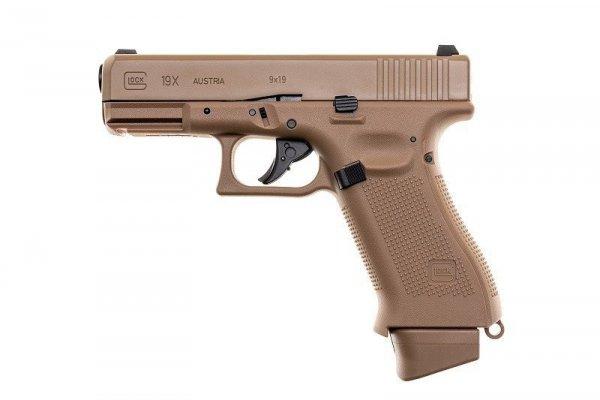 Umarex - Replika CO2 Glock 19X - TAN