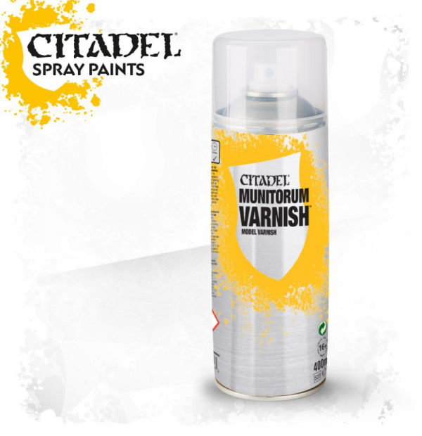 CITADEL - Munitorum Varnish Spray 400ml
