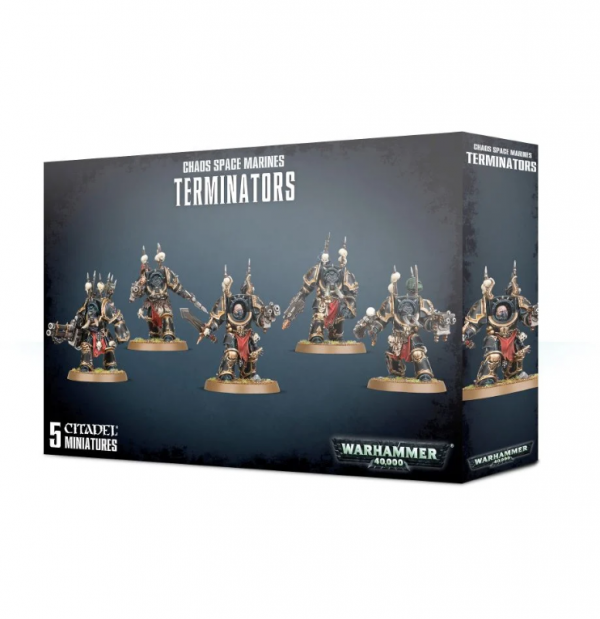 Warhammer 40K - Chaos Space Marines Terminators