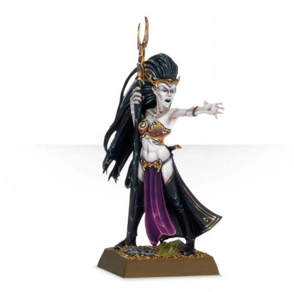 Warhammer AoS -  Dark Elf Supreme Sorceress