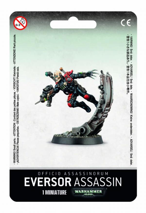 Warhammer 40K - Officio Assassinorum Eversor Assassin