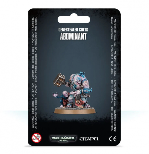 Warhammer 40K - Genestealer Cults Abominant