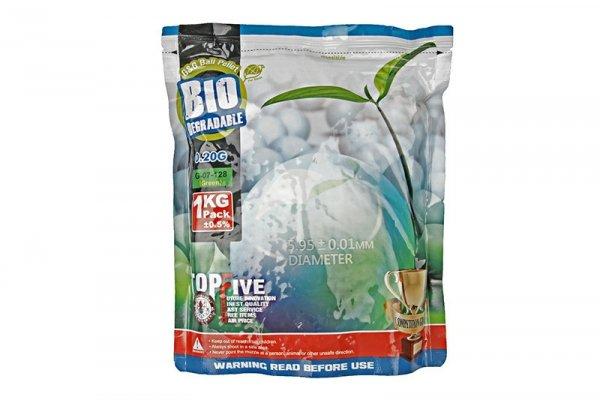 Kulki biodegradowalne 0,2g - 1kg - zielone