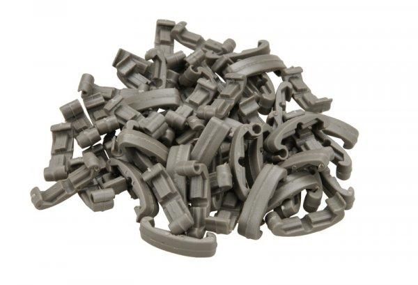 Klipsy na szynę RIS 22 mm 60x - FG