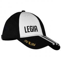 Adidas czapka z daszkiem Legia Warszawa LW 3S Cap AH9618 unisex