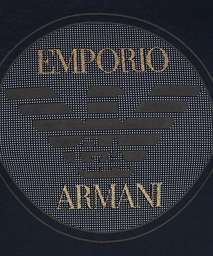 T-SHIRT MĘSKI EMPORIO ARMANI GRANATOWY