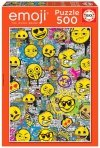 Puzzle 500 Educa 18485 Graffiti Emoji