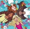 Puzzle 3w1 Trefl T-34827 Barbie - Prawdziwa Przyjażń