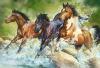 Puzzle 1500 Trefl 26148 Trzy Dzikie Konie