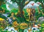 Puzzle 500 Ravensburger 141715 Afrykańskie Zwierzęta