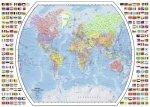 Puzzle 1000 Ravensburger 196333 Polityczna Mapa Świata