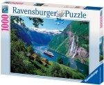 Puzzle 1000 Ravensburger 158041 Fiordy Norweskie